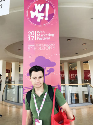 Visitando il Festival del Web Marketing 2017